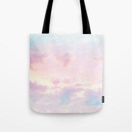 Unicorn Pastel Clouds #2 #decor #art #society6 Tote Bag