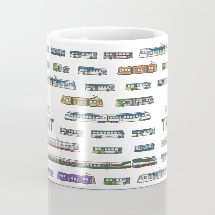 The Transit of Greater Portland Coffee Mug