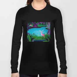 The Silent Deep Stream of Greendown Glenn Long Sleeve T-shirt