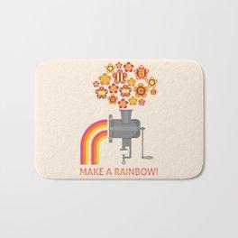 Make a rainbow! Bath Mat