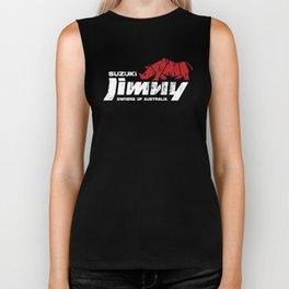 Suzuki Jimny Owners of Australia - Grunge Rhino Reversed Biker Tank