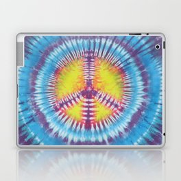 Peace Tie Dye Laptop & iPad Skin