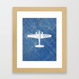Mixed media by coco james society6 industrial art print airplane art print blueprint artwork modern art living room decor blue white malvernweather Choice Image