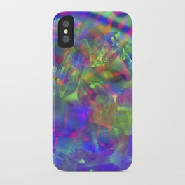 Crystal Face iPhone Case