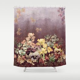 Fading in to Fall Shower Curtain