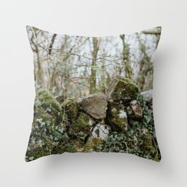 When Abounding Hedges Ring Throw Pillow