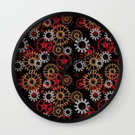 For the Love of Gears Wall Clock