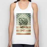 lincoln Tank Tops featuring Lincoln by Gusvili