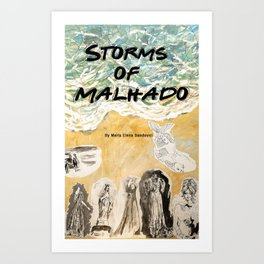Storms of Malhado Art Print