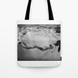 Mermaid Among us (float) Tote Bag
