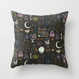 Haunted Attic Throw Pillow