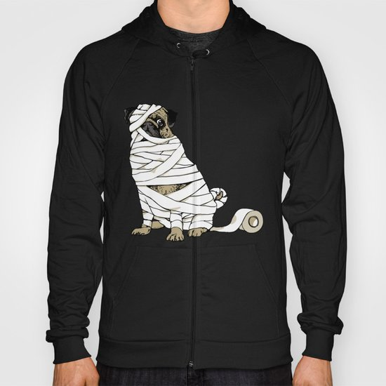 The Mummy Pug Return Hoody