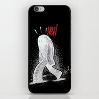 yeti iPhone & iPod Skins featuring Yeti by Sergi Ferrando