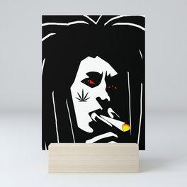 Midnight Toker Mini Art Print