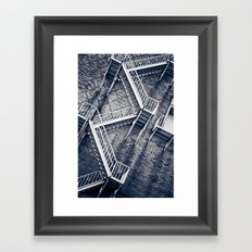 Escher's Escape Framed Art Print