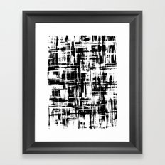 Smoke Digital 4 Framed Art Print