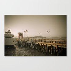 View of Alcatraz - The Rock Canvas Print
