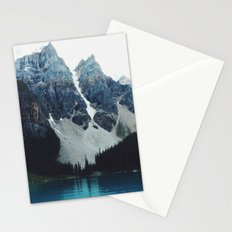 Moody Moraine lake Stationery Cards