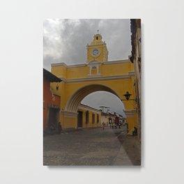 Antigua Calle del Arco Metal Print