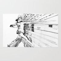 random Area & Throw Rugs featuring random  by new art