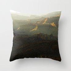 The Grand Canyon Sunset Throw Pillow