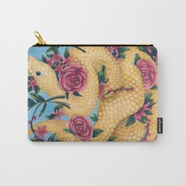 Snake & Roses Carry-All Pouch