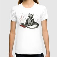 hiccup T-shirts featuring Toothless by artbyteesa