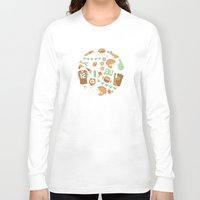 football Long Sleeve T-shirts featuring Football! by Jessica Giles