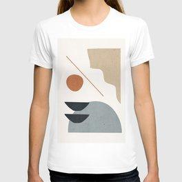 Abstract Minimal Shapes 29 T-shirt