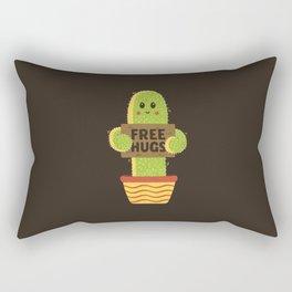 Free Hugs Cactus Rectangular Pillow