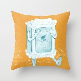 Rub A Dub, D'oh! Throw Pillow