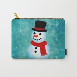 snowman Carry-All Pouch