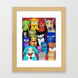 """Watching """"Cats"""" Framed Art Print"""