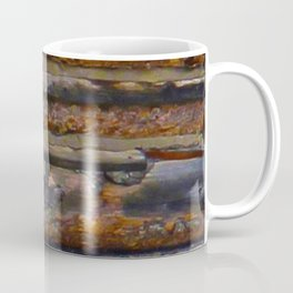 Aged Log Cabin rustic decor Coffee Mug