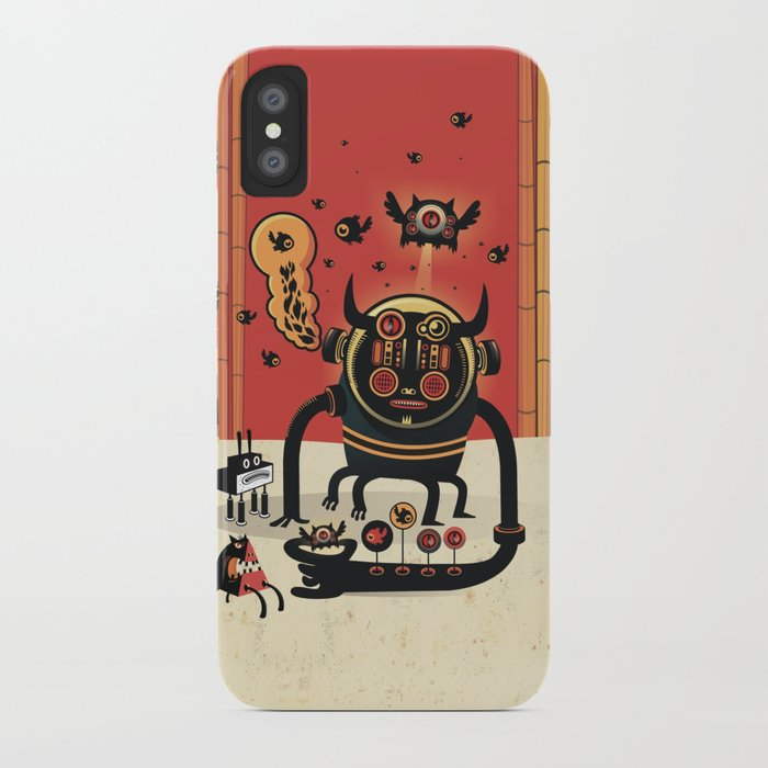 Insect catcher iPhone Case