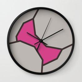 Today NO Bra Wall Clock