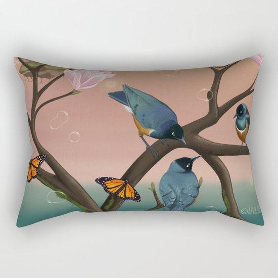 Starlings Rectangular Pillow