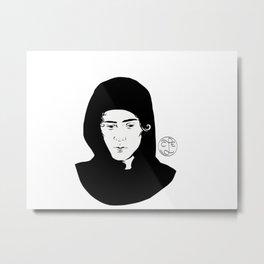 Gangsta Isak Metal Print