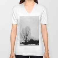 lonely V-neck T-shirts featuring LONELY by ..........