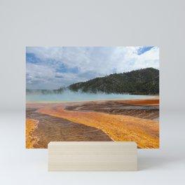 Yellowstone Algae 3 Mini Art Print