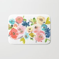 Floral POP #2 Bath Mat