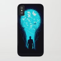 carpe iPhone & iPod Cases featuring Bright Side by nicebleed