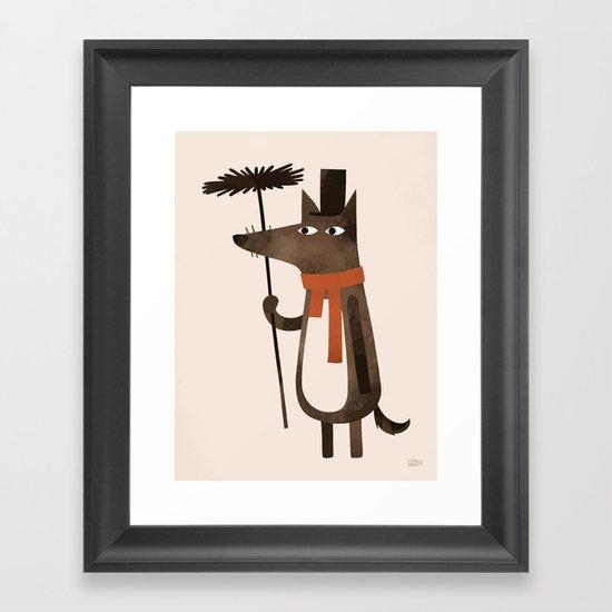 Chimley the Sweep Framed Art Print