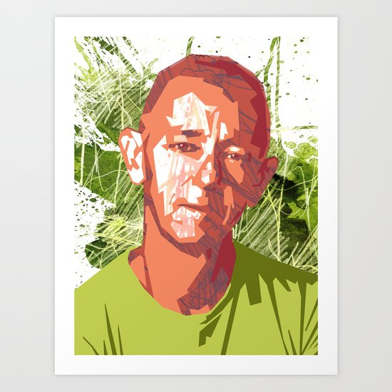 Simonson Self-Portrait Art Print