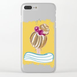 Hair Bun #society6 #buyart Clear iPhone Case