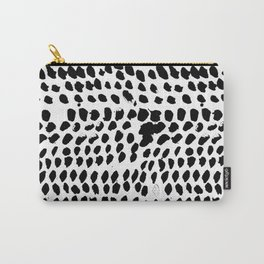 Flowing dots 02 Carry-All Pouch
