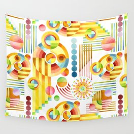 Abstract Art Deco Wall Tapestry