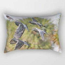 Pigeon Brigade Rectangular Pillow