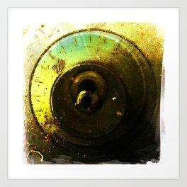 number 2 dial Art Print