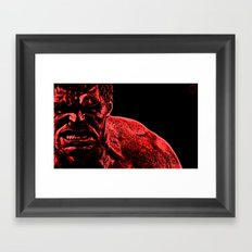Seeing RED Framed Art Print